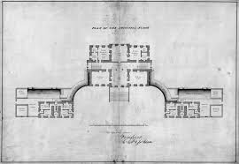 Research Note  Scottish Bedroom Tables from Scotland to the       Plan of principal floor for Dumfries House    signed  quot