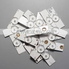 2 pack x <b>Led</b> Strips 3v Bulbs Diodes <b>32 65 inch Tv</b> Optical Lens ...
