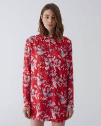 <b>Платье</b>-<b>рубашка с длинным рукавом</b>