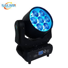 China Hot Sale 7*40W Disco LED <b>Moving</b> Head <b>Zoom Wash</b> Light ...