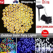 <b>22M 200 LED</b> Solar Powered String Lights | Shopee Philippines
