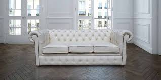 chesterfield 3 seater white leather sofa offer chesterfield sofa leather 3