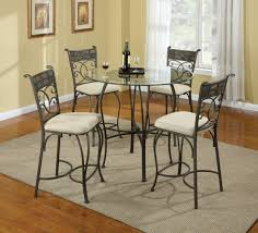 Glass Top Pedestal Dining Room Tables Hit Furniture Rectangle Glass Top Dining Table With Black Stained