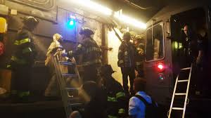 Subway Derails in Manhattan, Causing Power Outage and Chaos ...