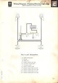 thesamba com type 2 wiring diagrams 1955 1955 turn signal wiring