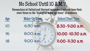despite proven benefits starting school later remains a tough starting school later 1