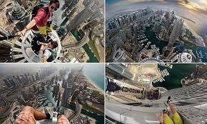 Daredevil skywalker Alexander Remnev snaps selfies on Dubai's ...