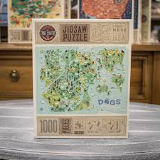 Jigsaw Puzzle - <b>Dogs Make the World</b> Go Round | niche. Decor & Gifts