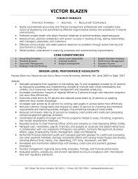 finance professional resumes template finance professional resumes