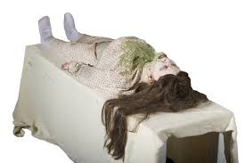 LIFESIZE SHAKING EXORCIST POSSESSED GIRL <b>ANIMATED</b> ...