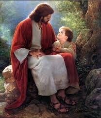 Image result for jesus with children