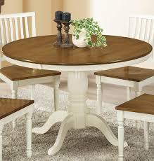 antique white oak dining
