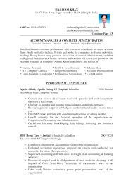 resumes for accountant anuvrat info not for profit accounting resume s accountant lewesmr