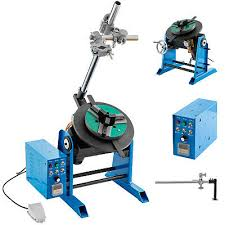 30KG Rotary <b>Welding Positioner</b> Turntable Timing <b>200mm Chuck</b> ...