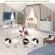 Vmaisi 12 Pack Adhesive <b>Child Safety Drawer</b> Lock No Drilling ...