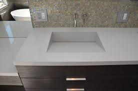 wonderful vanity top sink  cozy custom bathroom sink on bathroom with quartz integrated sinks mo