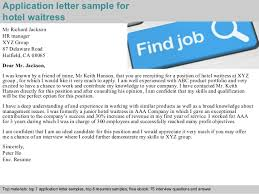 Cover Letter Uk Waiter Resign Free  Personal Reference Letter Format Standard