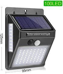Goodland <b>100</b> LED <b>Solar Light</b> Outdoor Solar Powered Sunlight ...