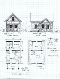 Cabin  Floor plans and Loft on Pinterest