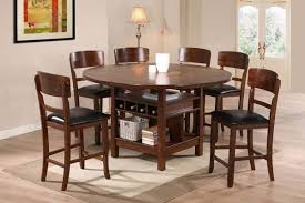 wicker bar height dining table: dining room crown mark pcs counter height dining table set in dark walnut popular house dining