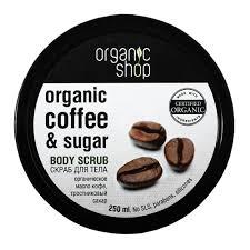 Купить <b>скраб для тела Бразильский</b> кофе Organic Shop ...