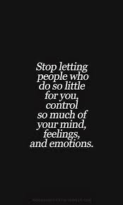 Image result for no control quotes