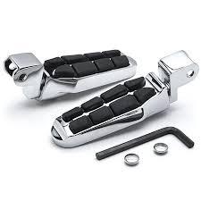<b>Tombstone</b> Motorcycle <b>Foot</b> Peg Footrests Chrome L&R For Honda ...