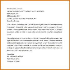 10 financial aid appeal letter sample   proposaltemplates.info Financial Aid Appeal Letter Sample
