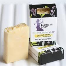 Mint <b>Eucalyptus</b> Bar <b>Soap</b>, <b>3.5oz</b> – Farmer's Body