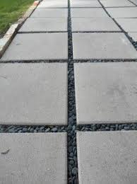 concrete tiles for patio cheap concrete slabs for a patio fill the gaps between the slabs with