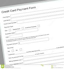 credit card application form royalty stock photos image credit card application form