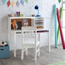 m modern office furniture and white stained wooden study desk for kids with shelving unit combination with white stained wooden chair placed in white brick office furniture