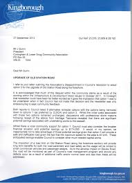 response letter re foreshore road letter from calsca coningham image