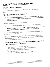 where can i a thesis statement  thesis statement creator