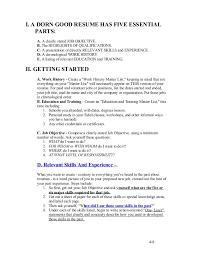 write good resume trunkcreating a dorn good resume