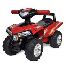 Retrome <b>Red Children's Ride</b>-on <b>Quad</b> with- Buy Online in ...