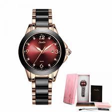 2019 <b>SUNKTA</b> Brand <b>Fashion</b> Watch <b>Women</b> Luxury Ceramic And ...
