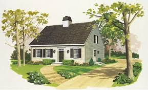 Cape Cod and New England Style HomesCape Cod Style House Plan Originating in New England