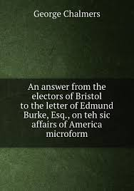"""Книга """"An answer from the <b>electors</b> of Bristol to the letter of Edmund ..."""
