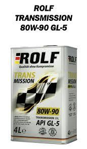 <b>Трансмиссионное масло ROLF</b> 80W-90 — Peugeot 205, 1.9 л ...