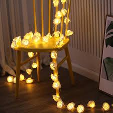 Xsky Rose Flower <b>LED String</b> Fairy <b>Lights Makeup Mirror</b> Vanity ...