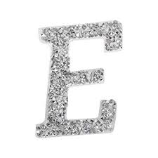 1PC A-Z Bling Rhinestone Letter Patches Glitter ... - Amazon.com