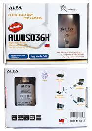 <b>Wi</b>-<b>Fi Адаптер Alfa Awus036h</b>. Как узнать оригинал или подделка?