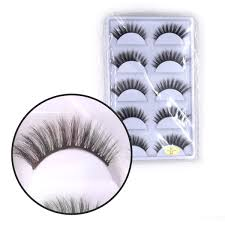 Buy <b>5 Pairs</b> Thick Mink <b>Artificial</b> Eyelashes <b>3D</b> Eyelashes Extensions ...