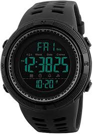 Fanmis Military Big Dial Sports Day Date Digital ... - Amazon.com