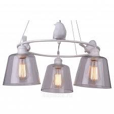 <b>Arte Lamp</b> Passero <b>A4289LM</b>-<b>3WH люстра</b> подвесная купить в ...