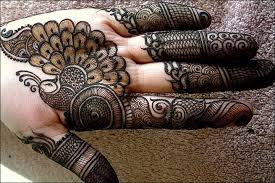 Image result for peacock mehandi designs