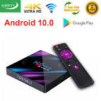 <b>Leadcool 1 Year QHDTV</b> H96 MAX Plus Android 10.0 TV BOX ...