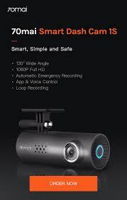 70mai <b>Smart</b> Dash Cam <b>1S</b> – 70mai