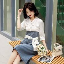 2020 popular summer style Korean retro fashion wave point ... - Vova